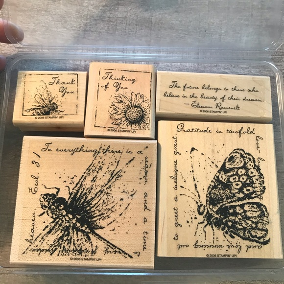 Reserved- Never Used 5 Stampin' Up Stamps